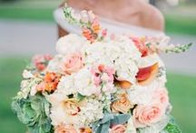 Coral and Peach Wedding Inspiration / Coral and peach wedding details and decor from JunebugWeddings.com - a trusted wedding planning resource and online magazine with serious personal style!  / by Junebug Weddings