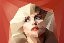 Geometric Portraits / by Giselle Ponce
