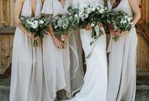 Bridesmaid Style / bridesmaid style, bridesmaids, bridesmaid dresses, bridal party, long bridesmaid dresses, short bridesmaid dresses, lace bridesmaid dresses, bridesmaid hair