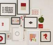 Interiors | gallery wall