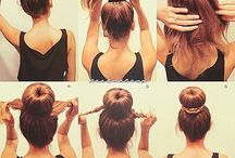 Hairstyles / Always have good hair . Always. / by Whitney Salazar