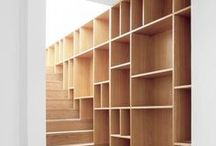 Interiors | bookcases + storage