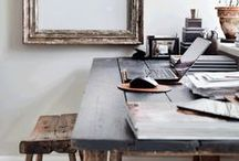 the creative workspace / beautiful and inspiring surroundings are a great inspiration in creative work.