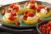 Appetizer Recipes / Kick off your meal with a spectacular variety of appetizers to get your party started deliciously.