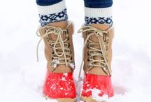 Shoes | Baby Its Cold Outside / by Susan Benner Rego