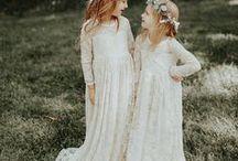 Ring Bearers and Flower Girls / ring bearer ideas, flower girl ideas, ring bearer outfit, flower girl outfit, flower girl dress