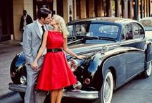 Retro Wedding Inspiration / Ideas and Inspiration for Wedding Styles, Themes, and Colors that are a bit more Retro / Vintage / Glam / Rockabilly in Nature!