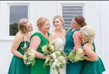CCP | Wedding Party / Some of my Favorite Shots of the Bride with Her Bridesmaids as well as the Groom with the Groomsmen on the Wedding Day!