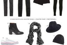 Clothing Basics / Simple, basic clothing items with style