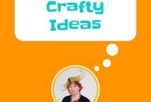 crafty ideas / Crafts for adults, crafts for kids, make jewellry, fabric printing, transfers, toys and spray paint, recycling, upcycling, easy crafts, crafts to try, tutorials, craft tutorials