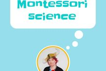 Montessori - Science / Science experiments to use at home or in the classroom for Montessori students