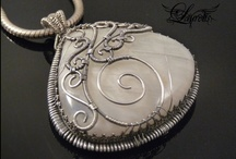 Jewelry - Pendants & Necklaces / Mostly wire wrapped, but some other goodies too.