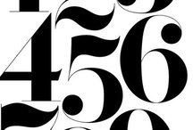 Typography / Inspirational typography and letterform design