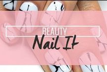 Beauty: Nail It / Nail art ideas and easy nail art inspiration / by Drop Dead Gorgeous Daily
