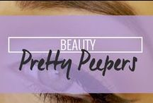 Beauty: Pretty peepers / by Drop Dead Gorgeous Daily