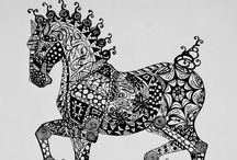 Ink-a-dink / From Zentangles to elaborate pen and ink drawings
