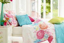 Charlotte's Ocean Bedroom Design / Girl's Beach and Ocean themed bedroom ideas, island style decor, ocean decor, girls room