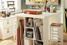 Craft spaces & organisation