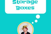 Storage Boxes / The quickest and easiest way to make a room look organized and tidy is to files everything away in storage boxes. This serves 2 per purposes, each item has a home and it looks tidy. Find or make boxes that fit your room and personality. Use kaizen hacks to start with one small area at a time.