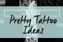 Beauty: Pretty Tattoo Ideas / Need inspiration for your next tattoo? Looking for beautiful tattoo ideas? Then this is the place for you! / by Drop Dead Gorgeous Daily