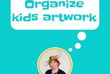 organize kids artwork / Organize kids artwork, art frames for kids, kids art portfolio, art books for kids, what to do with kids artwork, art wall, kids art gallery, how to display kids artwork,