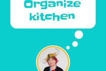 Organize - kitchen / The most efficient and clever ways to organise your kitchen. Organise fridge, organise pantry, organise cupboards, organise Tupperware, organize under the sink. Use kaizen hacks to improve your kitchen organization