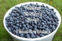 July is National Blueberry Month / This is one of our favorite culinary months of the year when blueberries are at their peak flavor and size.  You'll find them at all the farmer's markets.  Here are some great ideas to use them up.
