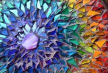 Mosaic / Mosaic Art that inspires me... someday I want to try this.