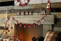 Nordic Christmas / Nordic Christmas ideas, red & white theme