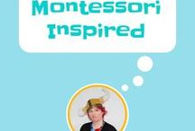 Montessori Inspired / Montessori Inspired Activities For pre-schoolers: Home projects for 2 - 6 year olds is available on Amazon and all good book retailers. All the activities can be done at home with no special equipment or training required.