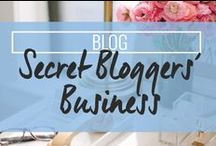 Secret Bloggers Business / Blogging advice and blog tips - How to make money blogging / by Drop Dead Gorgeous Daily