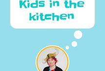 Kids in the kitchen / Get kids in the kitchen, kids that cooking, cooking with kids, kids in the kitchen, easy recipes for kids, recipes for kids, fun food, healthy kids recipes