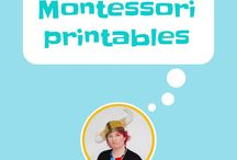 Montessori printables / printables used in Montessori education, montessori 3 part cards, leaf identification, knights and castles, geometric solids, musical instruments