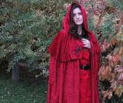 Cloaks & Hooded Capelets / Browse our clothing line of velour cloaks and hooded capelets