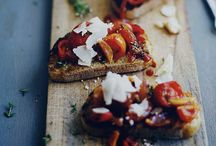 Tartines / It all starts with great bread then top with simple ingredients to create amazing Tartines
