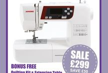 Janome Autumn Promotion Available at Sew Devine / The Janome Autumn Promotion is here!   Looking for a new sewing machine then why not take a look at these great offers from Janome available at http://www.sewdevine.co.uk   Why not download the latest Janome Sewing With Style promotion leaflet here.  http://www.sewdevine.co.uk/janome-special-offers/Janome-SWS-Autumn-2015.pdf