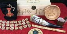 Ritual Blot Kits / You'll find all kinds of ritual tools that can be used in a blot to the Aesir here; Gandrs, Bowlis, Vegvisir compasses. Our Blot Kits have everything you need to perform a blot on your own! A must-have for the aspiring Gothi or Gythia.