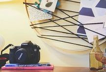 DIY Home Decor / Make a piece special by adding your own DIY touch.