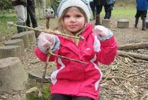 Get crafty with nature / Nature lends itself to creativity. Lots of wonderful ideas here to get crafty with the things you might find on a Cornish beach or Bosinver's own woodland trail - get out and about and see what you can create!