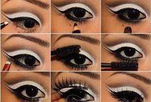 Make-up looks:
