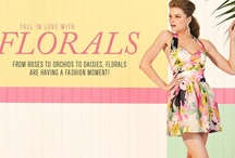Fall in love with florals... / From roses to orchids to daisies, florals are having a fashion moment! / by Lipsy London