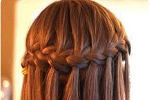 Hair Ideas / Easy and simple hair tutorials / by Hailey Nigro