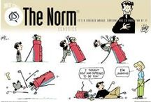 """The Norm 1.0 (Classics) / Some of my favorite """"The Norm"""" comic strips archived daily at gocomics.com/thenorm/"""