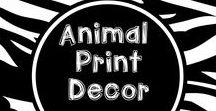 Wild About Animal Print Decor