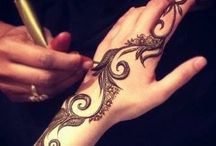 Henna Art / Henna Inspirations from various henna artist from the world. Internet source
