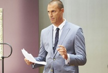 The Face Style: Nigel / Fashionable duds worn by photographer Nigel Barker, host of Oxygen's upcoming show 'The Face.'  http://the-face.oxygen.com/ / by Oxygen Media