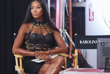 The Face Style: Naomi / The most fabulous fashion worn by supermodel mentor Naomi Campbell on the set of upcoming Oxygen show 'The Face.'  http://the-face.oxygen.com/ / by Oxygen Media