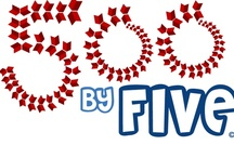 500 by Five Program / 500 by Five is the new early literacy program that was originally developed by librarians at the Calvert Library system in Southern Maryland.  The goal is to make reading a fun, family habit through reading 500 books by the age of five.
