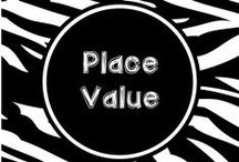 Wild About Place Value / Activities, games, lesson plans and assessments for place value instruction.