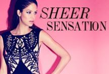 Sheer Sensation / by Lipsy London